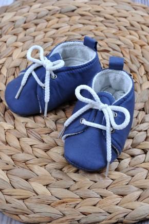 Пинетки хлопковые Magbaby синие