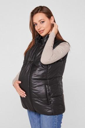 Слингожилетка 3в1 для беременных и слингоношения Lullababe черная