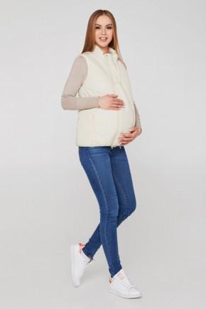 Слингожилетка 3в1 для беременных и слингоношения Lullababe молочная