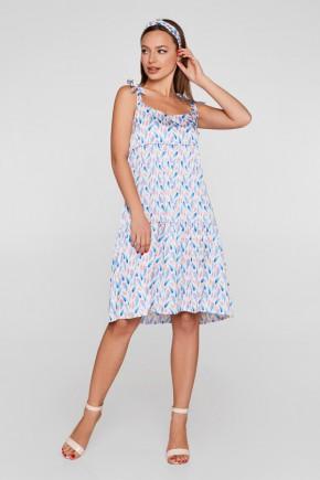 Літнє плаття для вагітних і годуючих (міні) Lullababe Barcelona синє