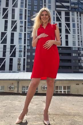 Платье для беременных и кормящих Dianora 2047 красное