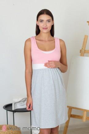 Ночная рубашка для беременных и кормящих Юла Мама Sela NW-1.8.5