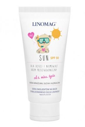 Солнцезащитный крем Linomag SUN SPF 50
