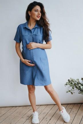 Платье для беременных To be 4248 деним