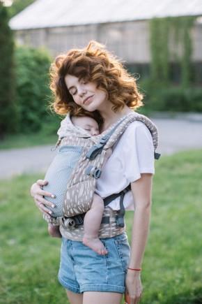 Ерго рюкзак Love & Carry One+ Organic Тропіки