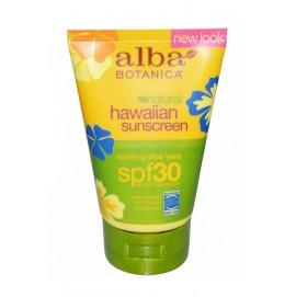 Натуральный гавайский солнцезащитный крем Alba Botanica SPF 30, 4