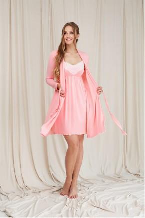 Халат для беременных Dianora 2064 розовый