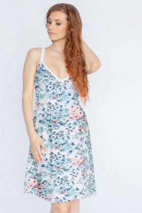 Ночная рубашка для беременных и кормящих Мамин Дом Jardin арт. 24180