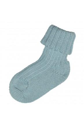 Термошкарпетки дитячі Groedo 100% вовна, 14041 блакитний