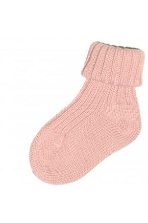 Термоноски детские Groedo 100% шерсть, 14041 розовый