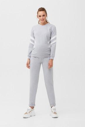 Спортивный костюм для беременных и кормящих Dianora 2085 серый