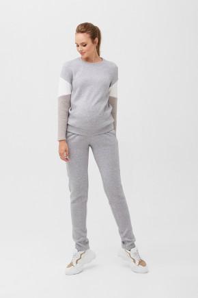 Спортивный костюм для беременных и кормящих Dianora 2094 серый