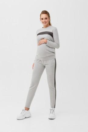 Спортивный костюм для беременных и кормящих Dianora 1990 серый