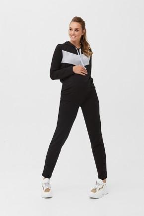 Спортивный костюм для беременных и кормящих Dianora 2005 черный