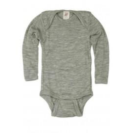 Термободи детский Engel из мериносовой шерсти и шелка серый