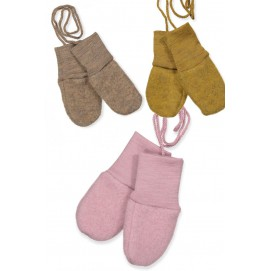 Варежки для новорожденного Engel и флисовой шерсти merino