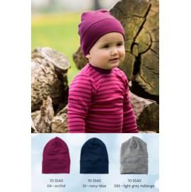 Детская шапка Engel из шерсти и шелка разные цвета