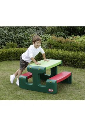 Игровой столик для пикника - ЯРКИЕ ЦВЕТА, ДЖУНИОР (зеленый)