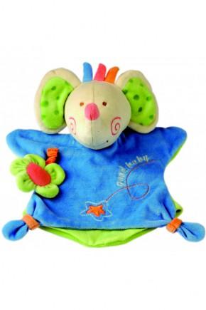 Игрушка платочек - слон Bino 86466