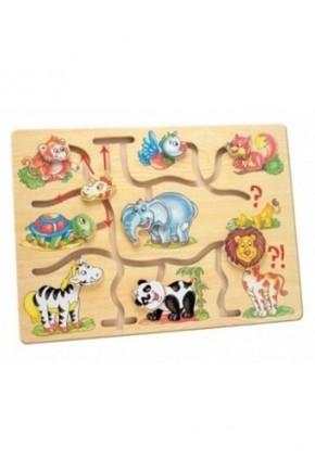 Игра - Подбери головы животным Bino 88096