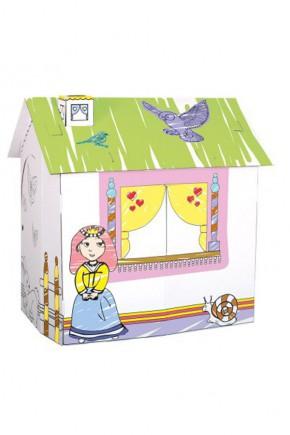 Игровой картонный домик для принцессы Bino 44002