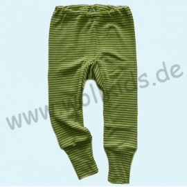 Штанці шерсть/шовк, зелений, Cosilana