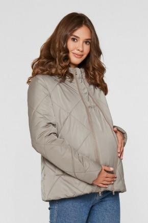 Слингокуртка 3в1 демисезонная для беременных Lullababe Zurich капучино