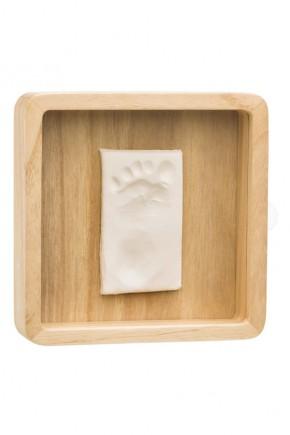 Магическая коробочка Baby Art деревянная с отпечатком