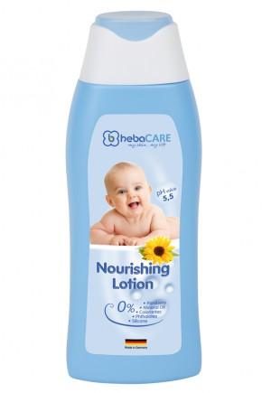 Детский увлажняющий лосьон HebaCARE для чувствительной кожи 250 мл
