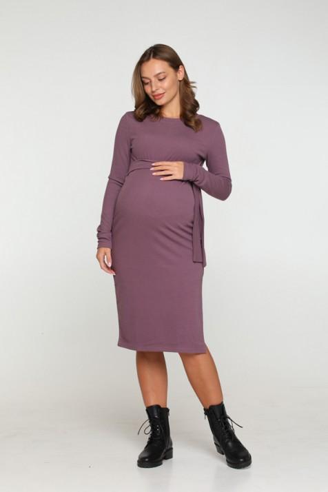 Платье для беременных Lullababe Baku баклажановое
