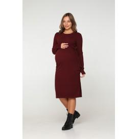Платье для беременных Lullababe Baku бордо