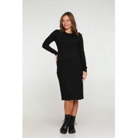 Платье для беременных Lullababe Baku черное