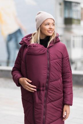 Зимняя слингокуртка 3в1 для беременных и слингоношения Love & Carry Сангрия