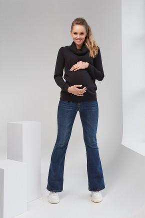 Кофта для беременных и кормящих Dianora 2102 черная