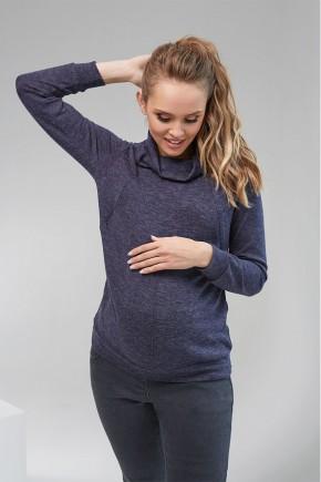 Кофта для беременных и кормящих Dianora 2102 синяя