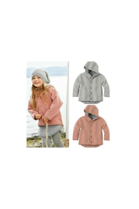 Курточка с капюшоном из валянной шерсти, Disana