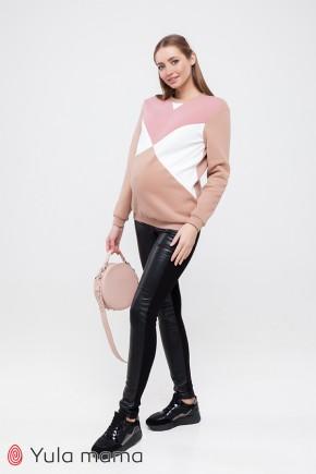 Утепленные брюки-лосины для беременных Юла Мама Mabella Warm TR-40.111