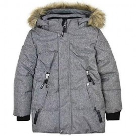 Зимняя куртка для мальчика Deux par Deux W54 серая