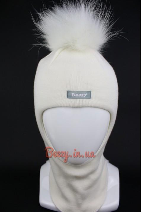 Шлем зимний для девочки Beezy арт.1521 розовый