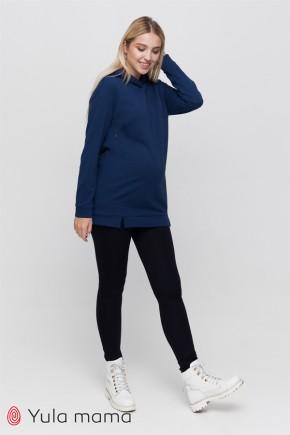 Теплі брюки-лосини для вагітних Юла Мама Mabella Warm TR-40.111