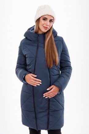 Зимове пальто для вагітних Юла Мама Mariet OW-49.041