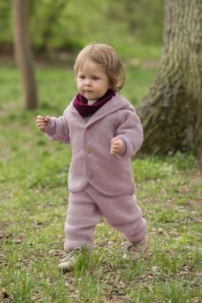 Комбинезон с капюшоном Engel из флисовой шерсти розовый