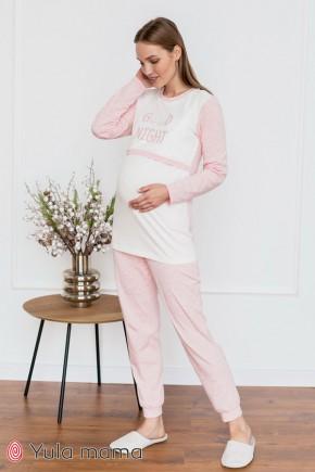 Пижама для беременных и кормящих Юла Мама Milena NW-5.6.1