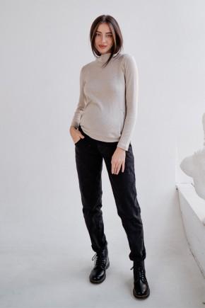 Джинсы для беременных To Be 1172 черный варка