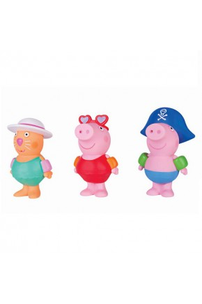 Набор игрушек-брызгунчиков Peppa - ДРУЗЬЯ ПЕППЫ (3 фигурки)