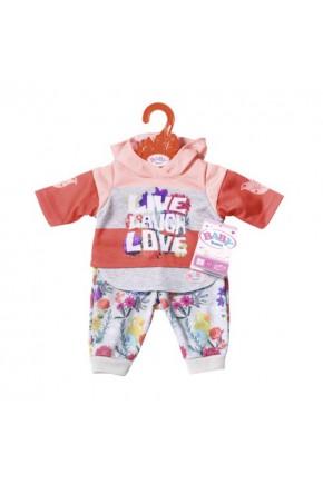 Набор одежды для куклы BABY BORN - ТРЕНДОВЫЙ СПОРТИВНЫЙ КОСТЮМ (розовый)