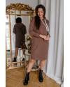 Плаття для вагітних To be 4284 коричневий