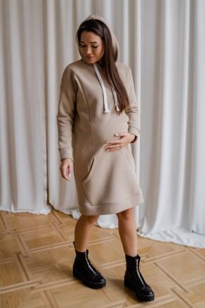 Платье для беременных To be 4284 теплый песок
