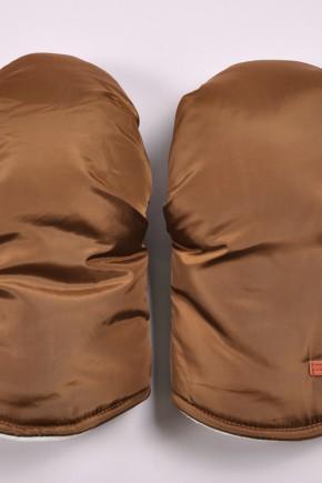 Муфта варежки для коляски Magbaby коричневая