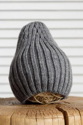 """Вязаная шапка Magbaby """"Alen"""" серая"""